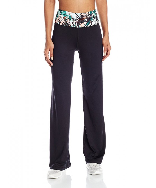 Karen Kane Womens Bootcut Jungle