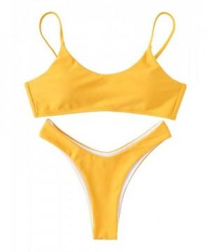 SweatyRocks Womens Pieces Bikini Bathing