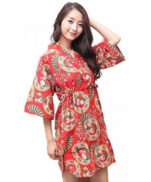 Ramatic Cotton Kimono Pajamas Sleepwear