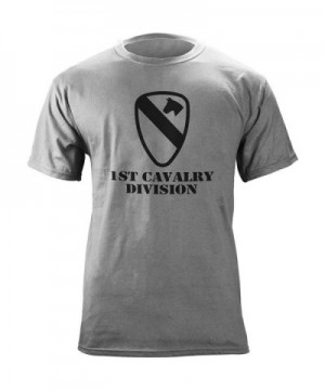 Cavalry Division Subdued Veteran T Shirt