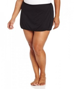 TYR Womens Solid Skort Black