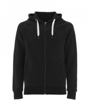 Black Hoodie Men Zipper Sweatshirt