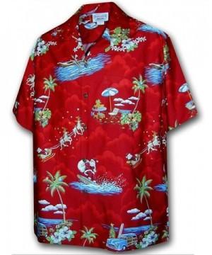 Christmas Santa Claus Hawaiian Shirt