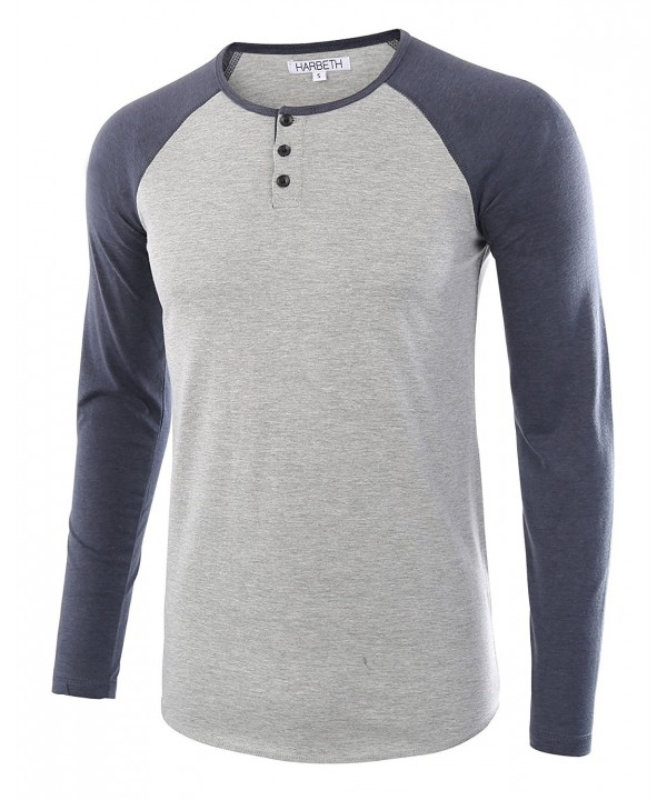 HARBETH Casual Sleeve Baseball T Shirts