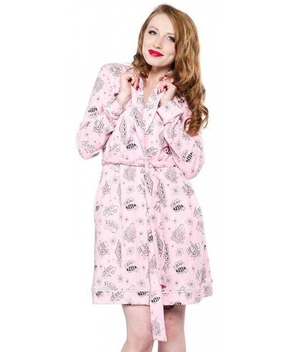 Sourpuss Bettie Page Motel Robe