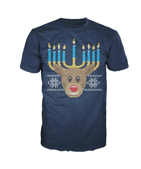 FSD Hanukkah Menorah Reindeer Lightweight