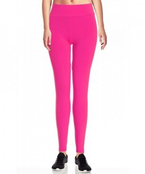 Womens Solid Color Seamless Legging
