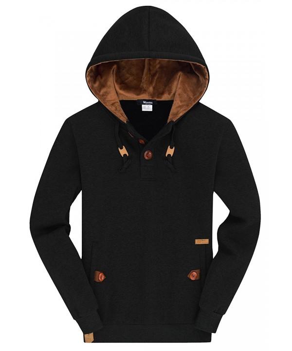 Wantdo Pullover Hoodie Sweatshirt Comfortable