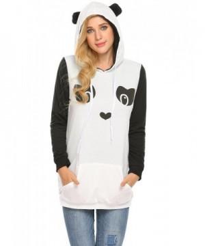 ELESOL Womens Pullover Sweatshirt Kangaroo