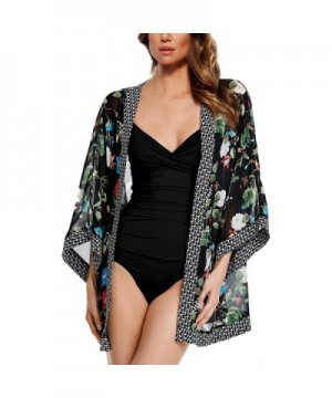 Collection Kimono Swimsuit Floral Pattern