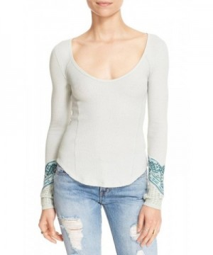 Free People Textured Boatneck Pullover