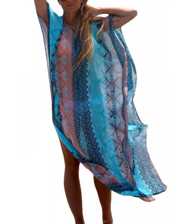 DQdq Womens Swimwear Overblouse Dresses