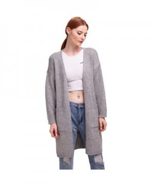 BELLA PHILOSOPHY Crochet Sweater Cardigan