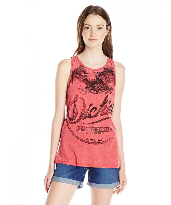 Dickies Girl Juniors Plunging Neckline
