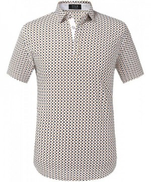 SSLR Printed Button Sleeve Casual