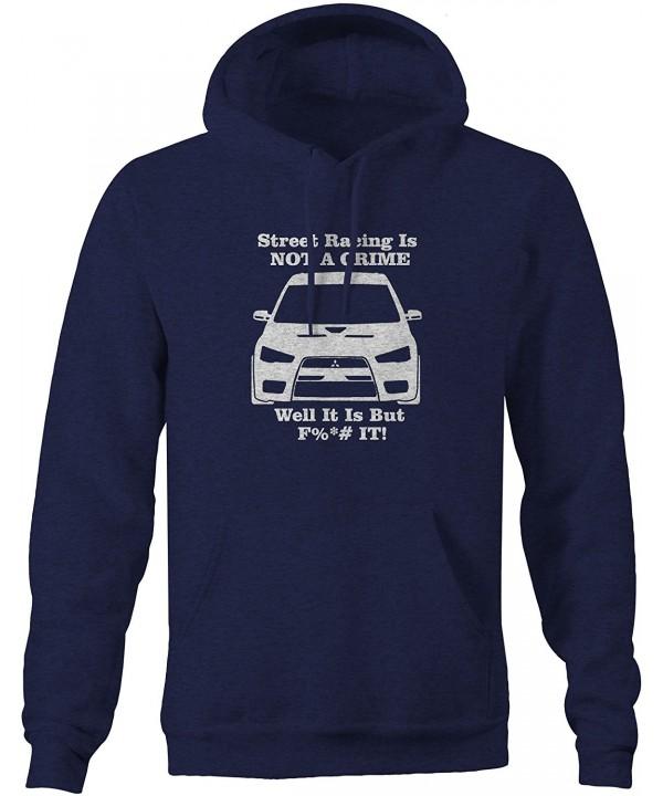 Mitsubishi Lancer Street CRIMEPullover Sweatshirt