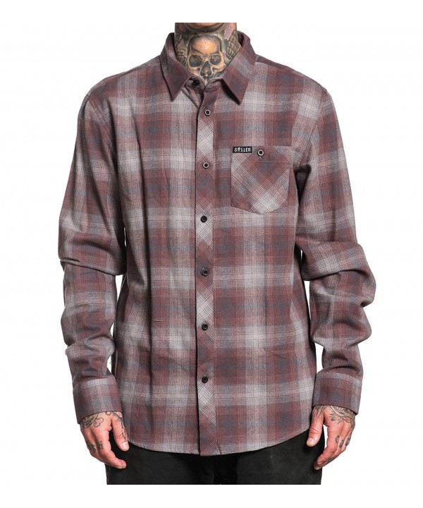 Sullen Button Plaid Flannel Medium