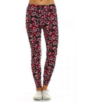 Leggings Mania Womens Heart Print