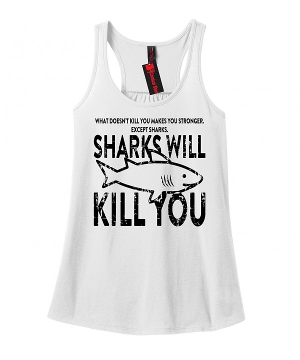 Comical Shirt Ladies Doesnt Sharks