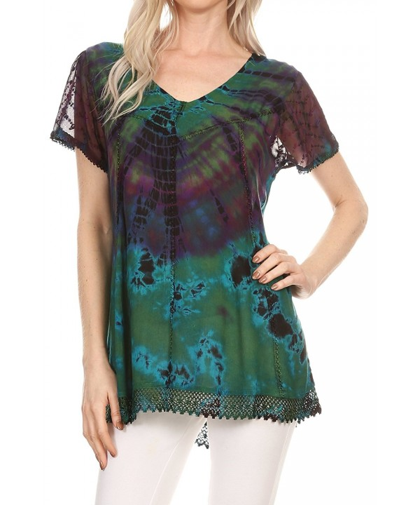 Sakkas 17787 Relaxed Embroidered Sleeve