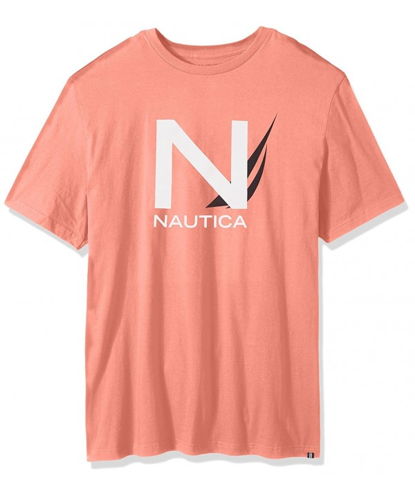 Nautica Sleeve Cotton T Shirt 3X Large