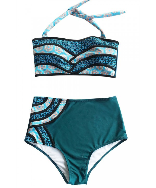 Seaselfie Vintage Waisted Padding Tankini
