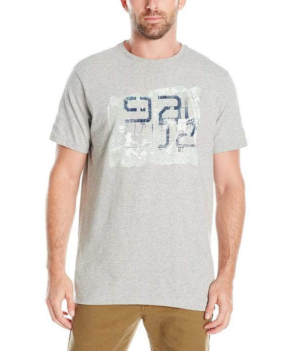 Nautica Graphic T Shirt Heather Large