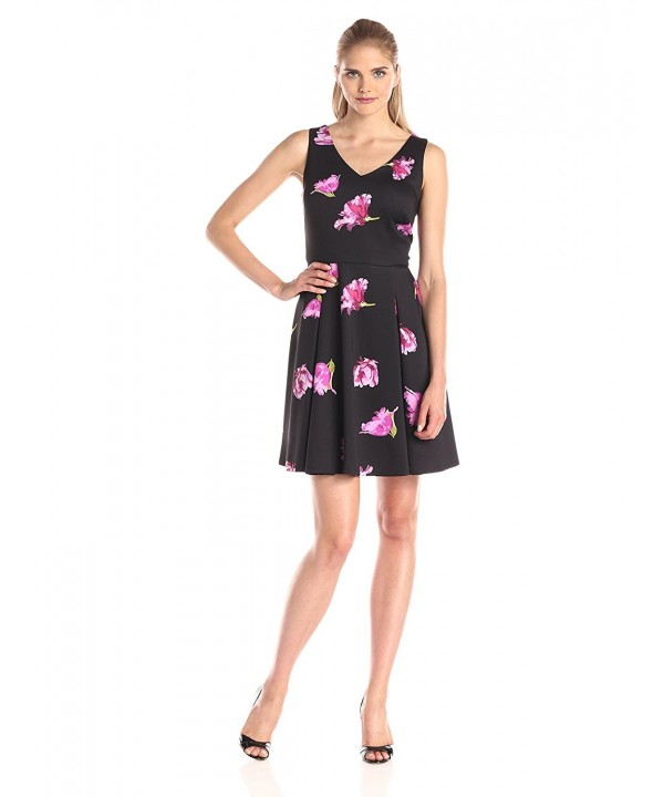 Julian Taylor Womens Sleeveless Printed