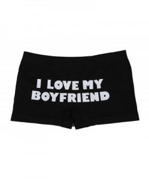 Cheap Real Women's Boy Short Panties