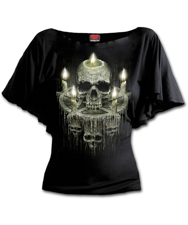 Spiral Womens Waxed Skull Sleeve