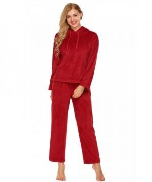 Ekouaer Flannel Patterned Homewear Sleepwear