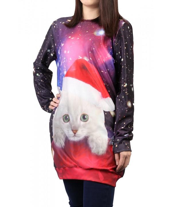Idgreatim Womens Christmas Pullover Sweatshirt