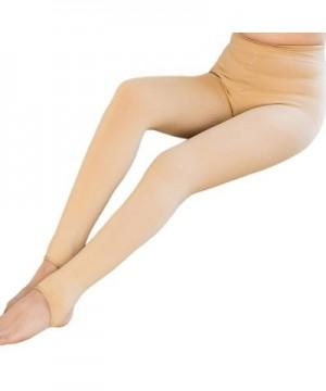 Blostirno Winter Velvet Stirrup Leggings