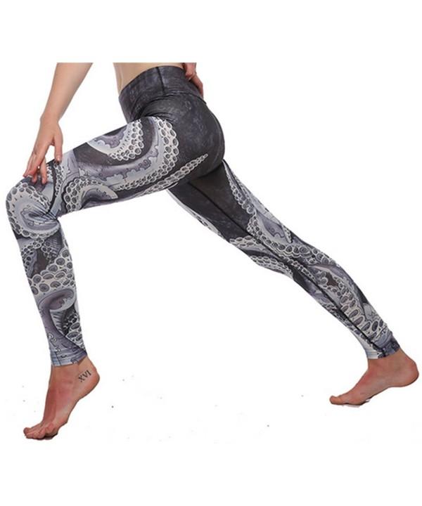 Vamvie Printed Brushed Workout Leggings