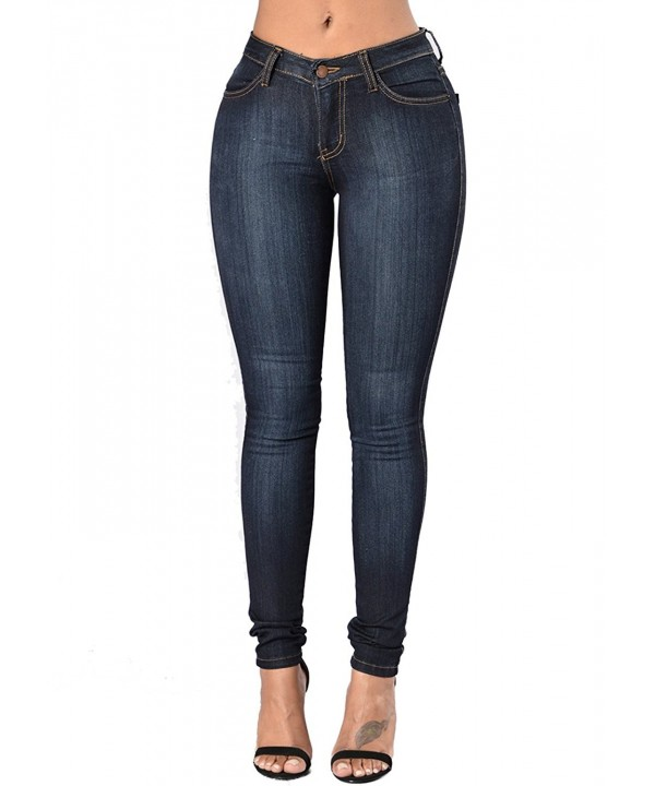 Womens Curvy Basic Stretch Skinny
