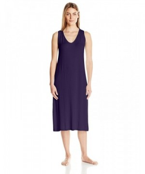 Arabella Womens Racerback Nightgown Raisin