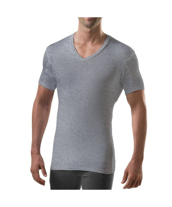 Thompson Tee Bamboo Heather Medium