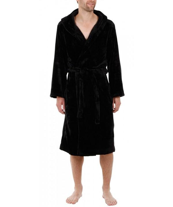 John Christian Hooded Velour Fleece