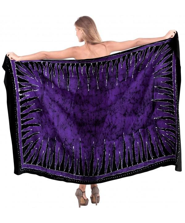Leela Swimsuit Bikini Sarong Violet