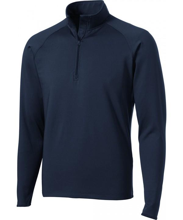 Sport Tek Mens Sport Wick Stretch Pullover