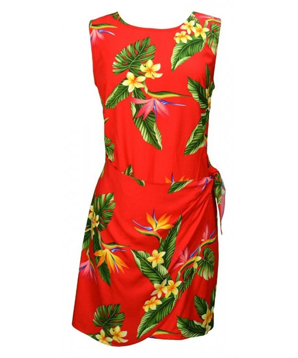 Womens Pristine Paradise Hawaiian Sarong