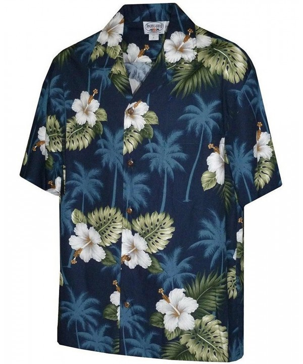 Pacific Legend Hibiscus Hawaiian Shirt