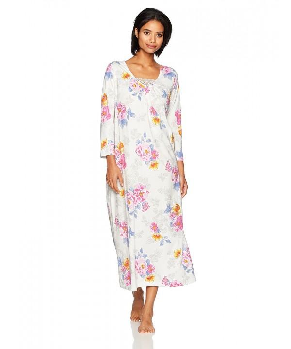 Carole Hochman Womens Sleeve Cotton