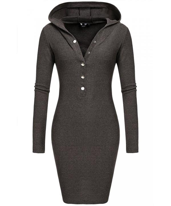 ACEVOG Womens Casual Sweatershirt Sleeve