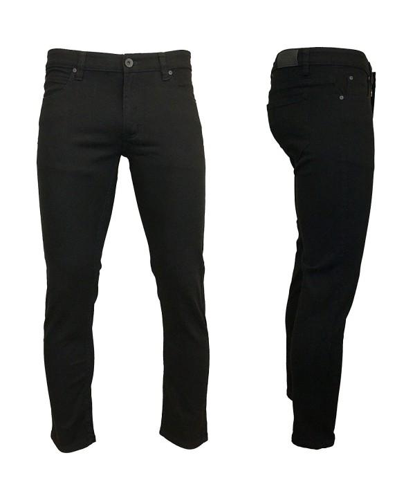 Kayden Skinny Twill Denim Jeans