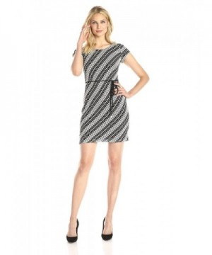 Sandra Darren Womens Sleeve Printed