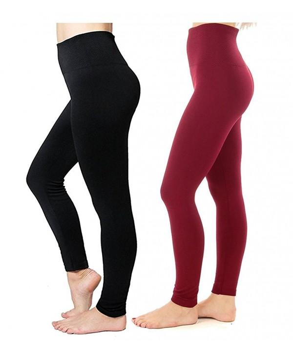 Yidarton Leggings Fleece Stretchy Fashion