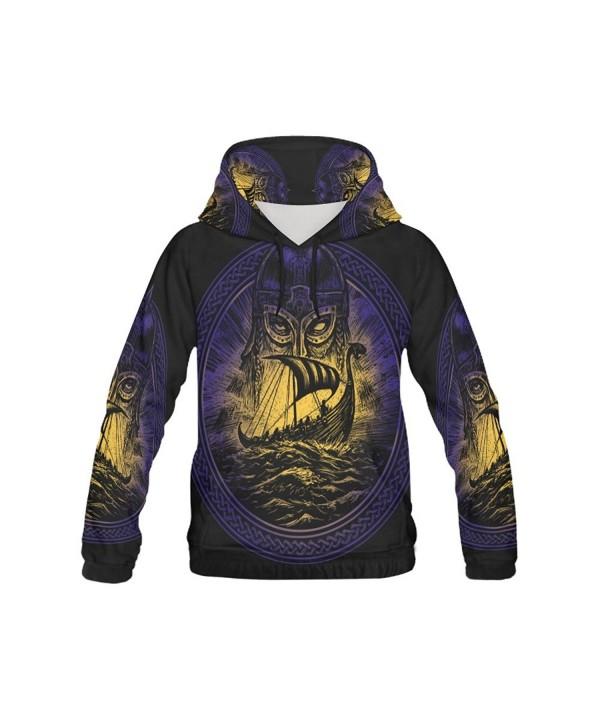your fantasia Custom Hoodie Viking Emblem
