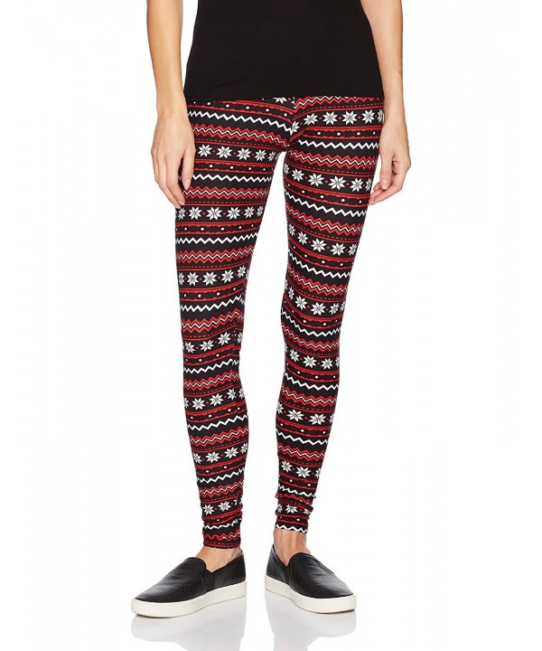 Allison Brittney Christmas Patterned Leggings