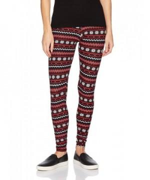 Allison Brittney Christmas Patterned Leggings